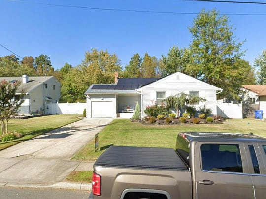 This Google Street View image shows the approximate location of 67 Blanchard Road in Evesham. The property at this address changed hands in January 2020, when new owners bought the property for $258,000.