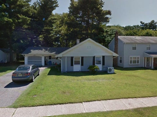 This Google Street View image shows the approximate location of 52 Sylvan Lane in Willingboro. The property at this address changed hands in December 2019, when new owner bought the property for $160,000.