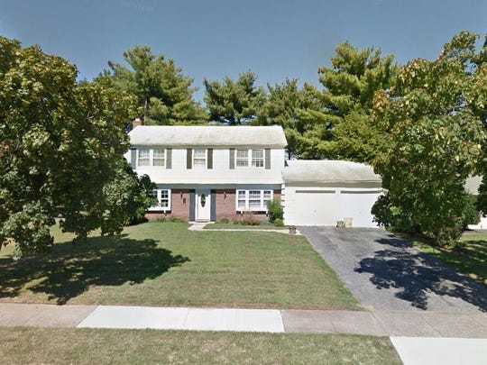 This Google Street View image shows the approximate location of 4 Fleetwood Place in Willingboro. The property at this address changed hands in December 2019, when new owner bought the property for $172,000.