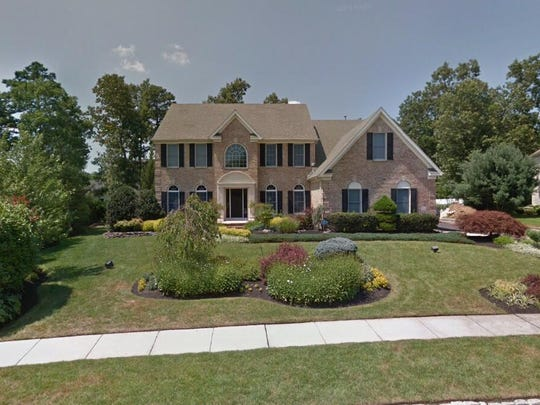 This Google Street View image shows the approximate location of 1610 Whispering Woods Way in Vineland. The property at this address changed hands in January 2020, when the new owners bought the property for $650,000.
