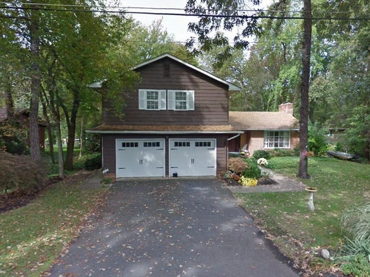 This Google Street View image shows the approximate location of 152 Askoran Tr in Medford Lakes. The property at this address changed hands in December 2019, when new owners bought the property for $585,000.