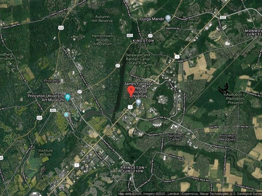 This aerial photo shows the approximate location of 581 Sayre Drive in Plainsboro. The property at this address changed hands in January 2020, when new owners bought the property for $470,000.