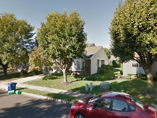 This Google Street View image shows the approximate location of 949 Larkspur Place S. in Mount Laurel. The property at this address changed hands in February 2020, when new owner bought the property for $290,000.