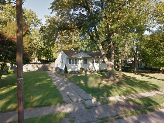 This Google Street View image shows the approximate location of 437 Larchmont Drive in Delanco. The property at this address changed hands in January 2020, when new owner bought the property for $209,000.