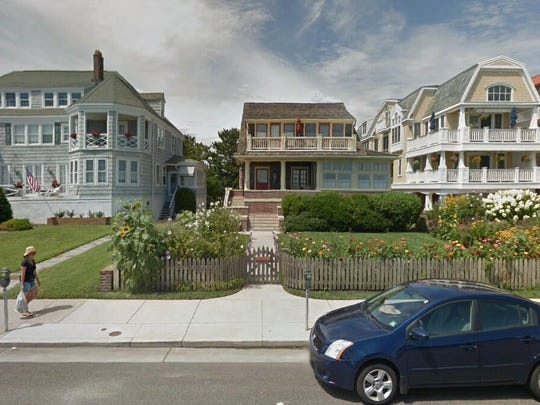 This Google Street View image shows the approximate location of 1015 Beach Ave. in Cape May. The property at this address changed hands in November 2019, when the new owner bought the property for $3,325,000.