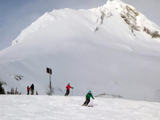 Mount Hood Meadows has plenty of terrain to ski and snowboard open for Presidents Day Weekend, despite low snowpack throughout Oregon.