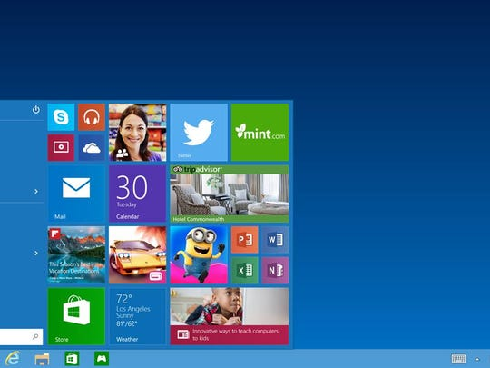 A preview is seen of the upcoming Windows Microsoft announced recently.