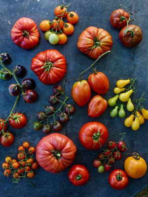 Tomatoes come in all shapes and sizes. Try experimenting with different varieties and flavors.