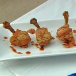 Saucy Chicken Lollipops was the featured recipe on News 8 Daybreak Saturday, September 27.