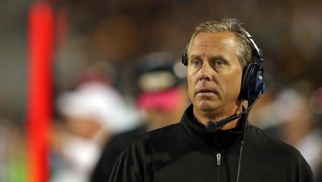 USM coach Todd Monken is confident his team will continue to improve during the season.