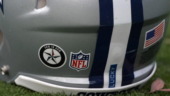 Arm in Arm decal.