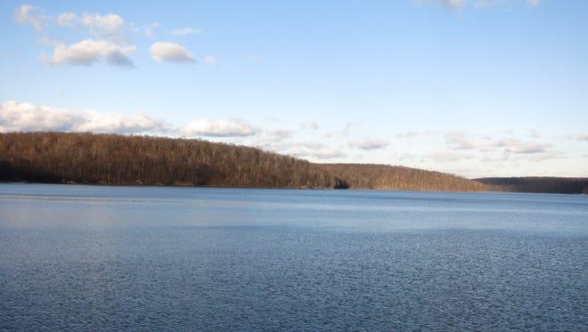 Splitrock Reservoir is located on the border of Rockaway Township and Kinnelon.