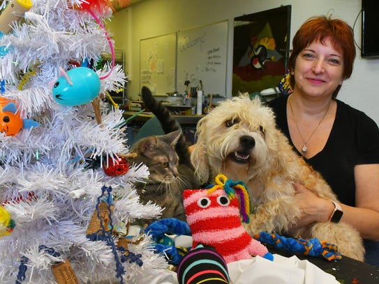 Deborah Conti of Satellite Beach hand makes gifts for