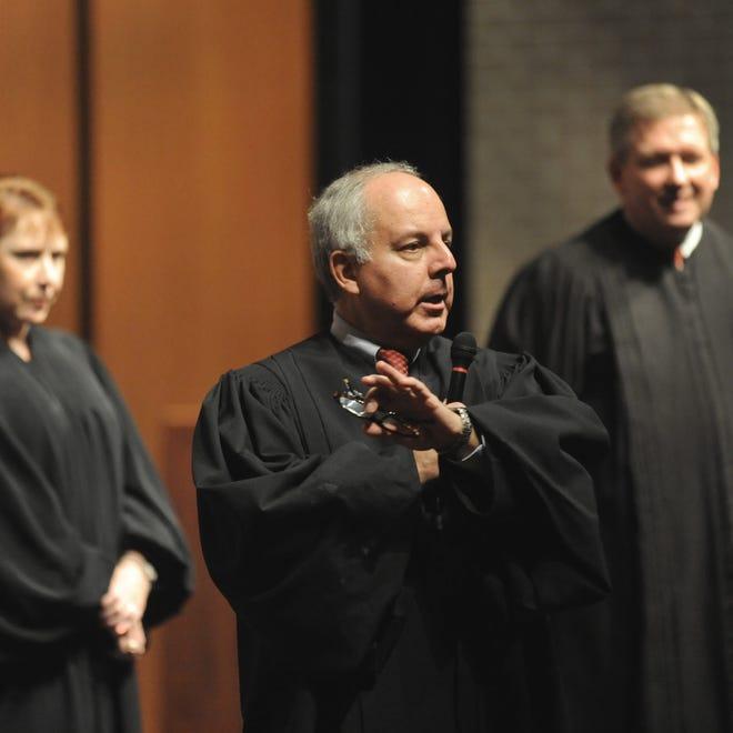 Indiana Court of Appeals of  Judge Edward W. Najam Jr., center.