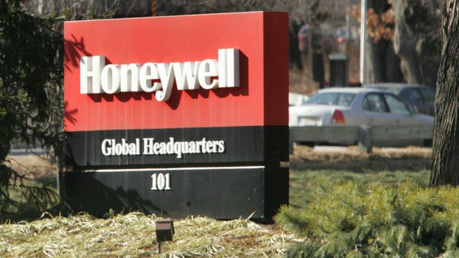The Honeywell International sign stands outside of its Morris County headquarters. File photo The Honeywell International sign outside of its headquarters in Morristown, New Jersey.