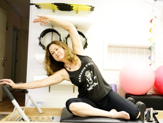 Acadiana Yoga and Wellness owner Jerry Smith-Guidry