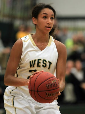 Mikaela Morgan leads West High in scoring, but the Women of Troy are getting contributions from all over the lineup.