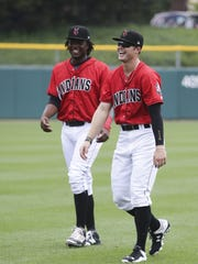 Meadows' time with the Pirates in spring training has helped him appreciate Indianapolis. The  camaraderie is similar. They stay loose and play hard.