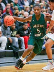 Lawrence North's Jared Hankins is a high-octane scorer.