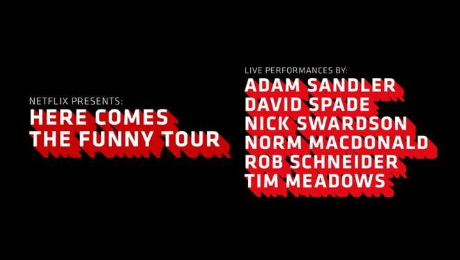 Win tickets to Here Comes The Funny Tour