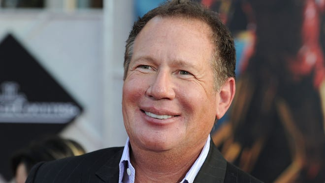 """Shandling arrives at the world premiere of Paramount Pictures & Marvel Entertainment's """"Iron Man 2"""" held at the El Capitan Theatre on April 26, 2010 in Hollywood, Calif."""
