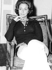 Rhea Chiles at her home in Lakeland, Fla. in 1971.