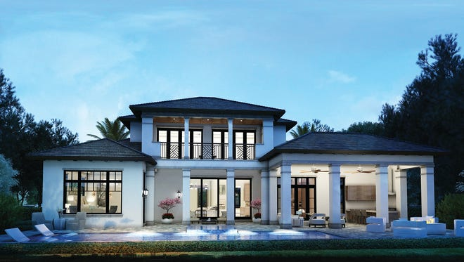 Knauf-Koenig Group is unveiling its latest custom home in Park Shore at 577 Devils Lane. It is priced at $4,395 million.