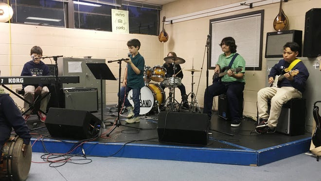 Metro Parks Jam Band is part of its youth music program.