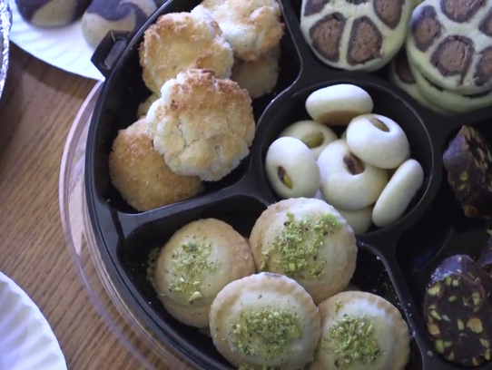 The Syrian Sweets Exchange is a series of bake sales