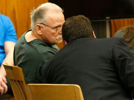 Child murderer Gerald Turner talks with state public