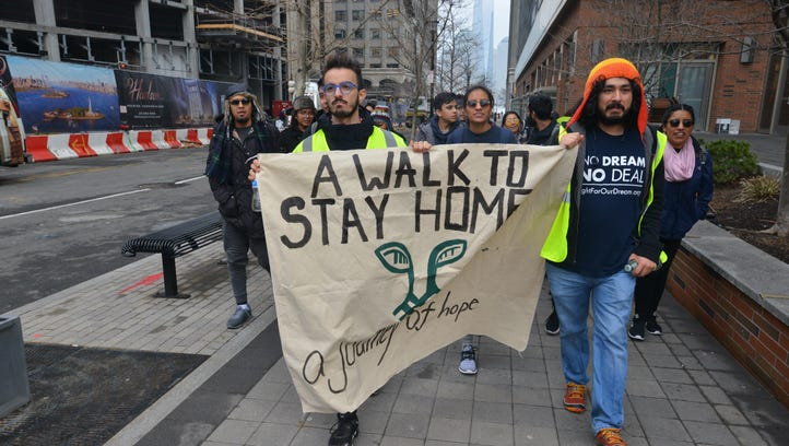 'Dreamers' hope to gain support for immigration legislation on 250-mile N.Y. to D.C. walk