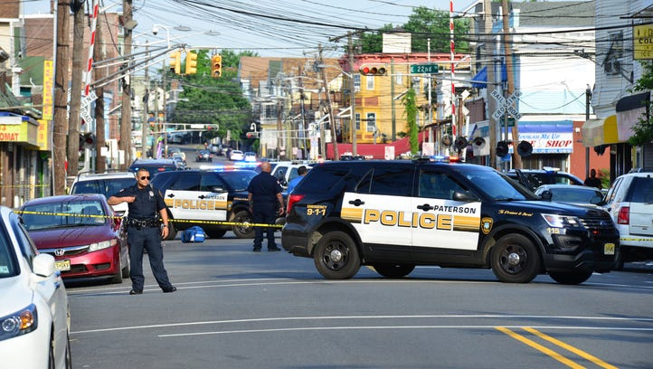 Paterson Police are on scene on Park Avenue after a