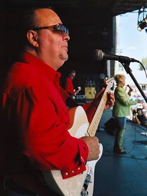 Guitarist Rick Wright