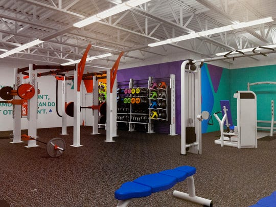 The new weight room at the YMCA will offer function type training equipment and traditional weightlifting equipment.
