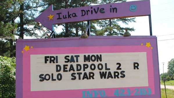 Mississippi's lone drive-in theater is the Iuka Drive-In in, well, Iuka. The drive-in opened in 1957 and is considered one of the smallest in the U.S.