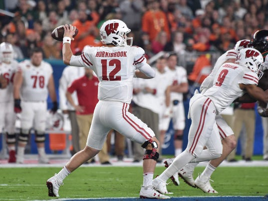 NCAA Football: Orange Bowl-Wisconsin vs Miami