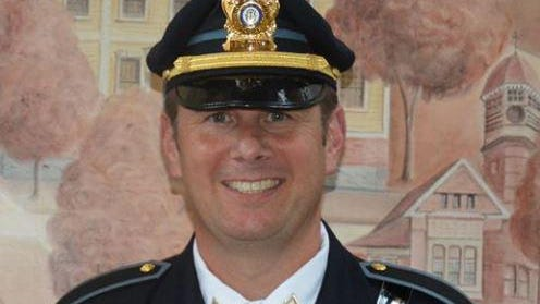 East Greenwich Police Sgt. Christopher Callan died Saturday morning after suffering injuries while skydiving in Killingly.