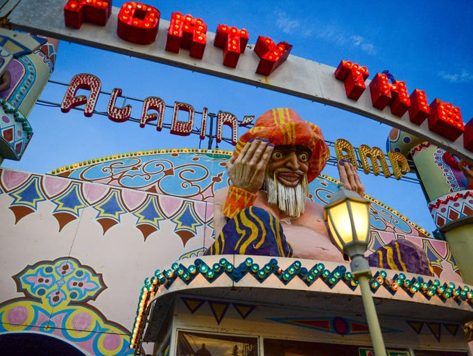 Aladdin's Lamp is no more at Trimper's Rides in Ocean