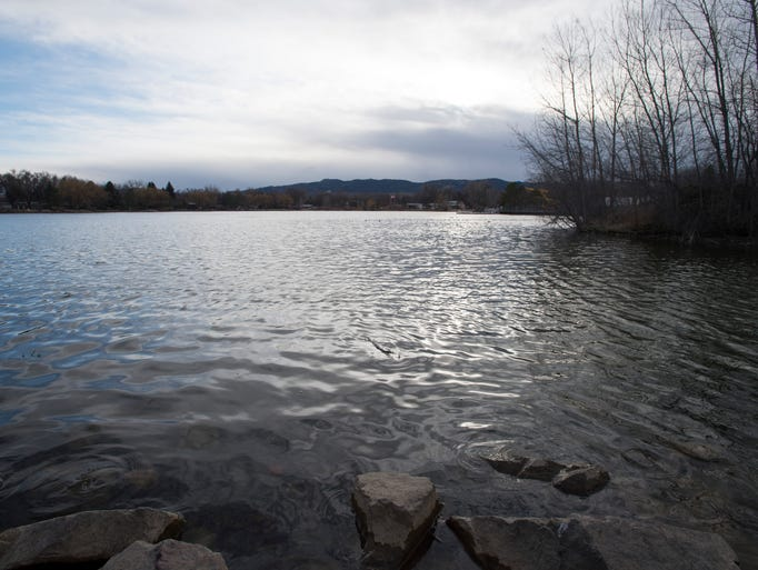 The sights of city park on march 15 2016 for Sheldon lake fishing