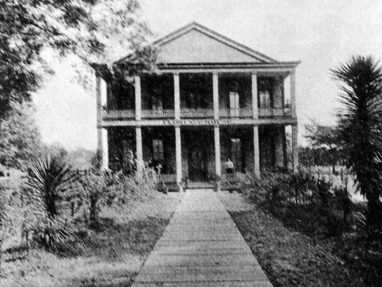 Florence House on Union Street, pictured in 1896.