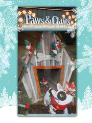 Paws & Claws took third place in 2015 Lights on Augusta.