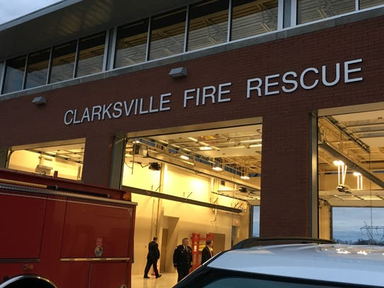 The new Clarksville Fire Rescue Station 12