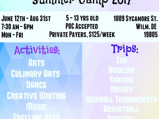 Cool Shoes Inc. Summer Camp 2017 poster.