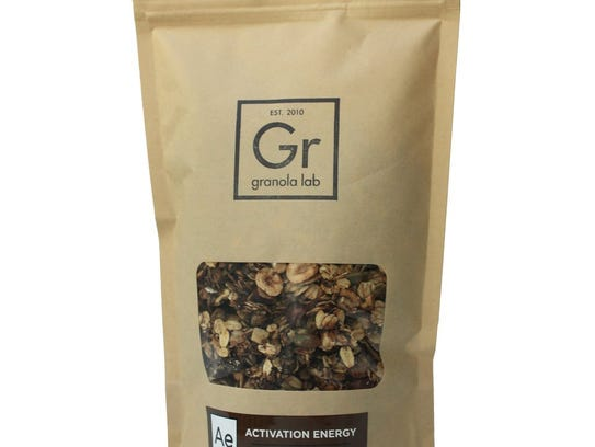 This granola contains a delicious blend of chocolate,