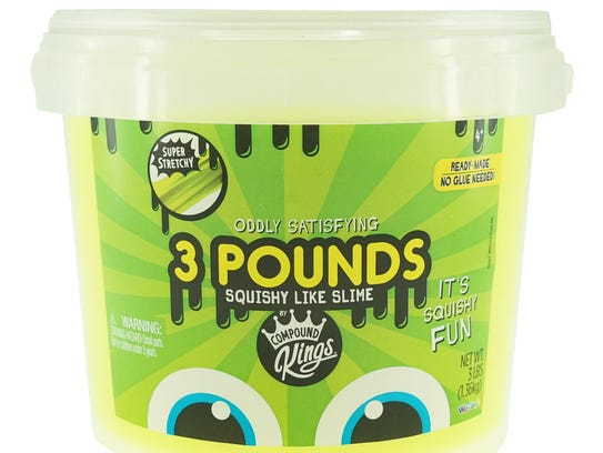 Three pounds of slime? Oh, honey, you shouldn't have!