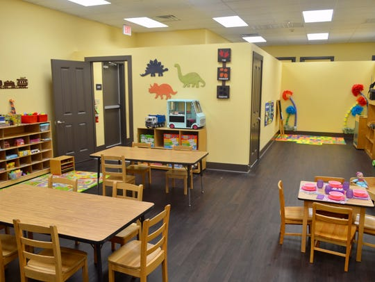 Classrooms at For My Child Learning Center are shown.