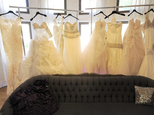Keasha Rigsby says she hopes to fill Beautiful Bridal with gowns ranging from $2,500 to more than $10,000.