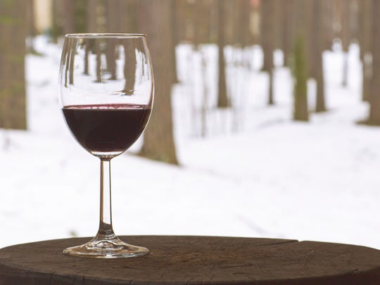 Enjoy a glass of wine after snowshoeing this weekend at the Greenwood Hills Country Club.