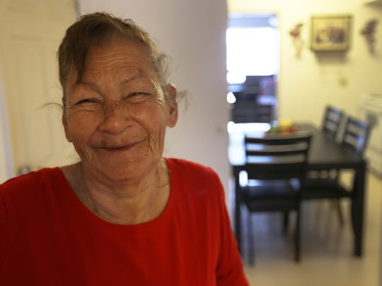 Julia Castillo is one of three elderly residents who used to live in the Overland apartment in Union Plaza. She was able to relocate to the Alamito Gardens apartments thanks to the Housing Authority of the City of El Paso who found her emergency housing. The agency is now looking for donations to help her and the other two residents set up their homes because they had to leave everything behiond due to bed bugs and other infestations.