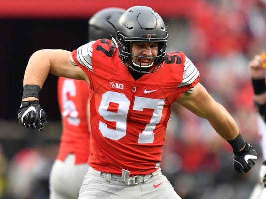 2019 NFL draft: 49ers snag Nick Bosa in Draft Wire mock